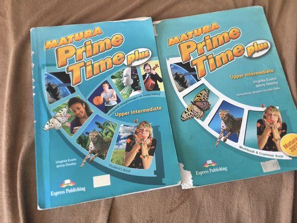 Matura prime time plus upper intermediate +ćwiczenia workbook