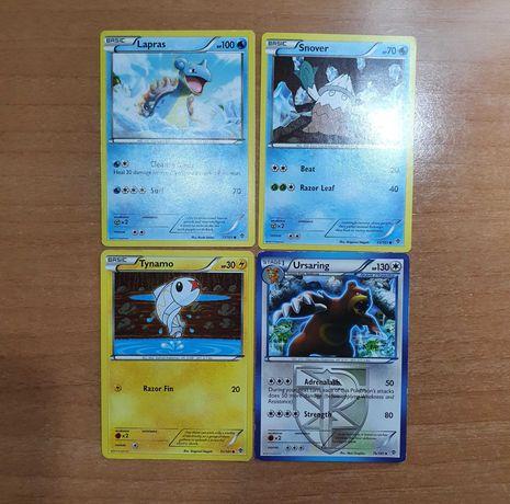 Cartas Pokémon - Plasma Blast, Legendary Treasures e Kalos Starter Set