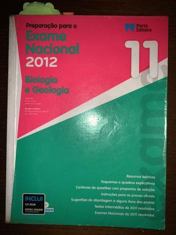 Livro preparação exames Biologia e Geologia