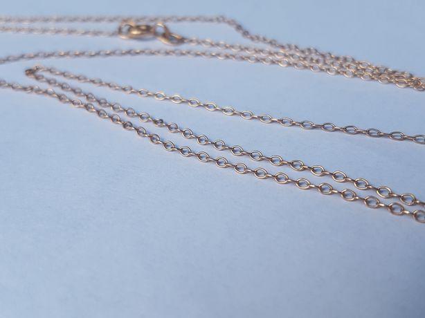 Złoty łańcuszek 2,4 gram złoto próba 585 wysyłka