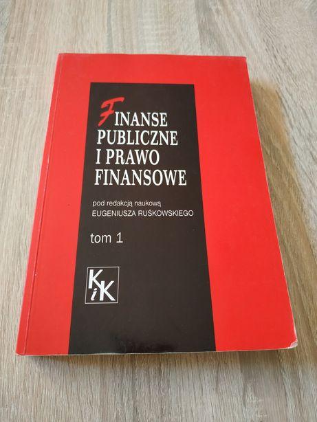 Finanse publiczne i prawo finansowe, E. Ruśkowski
