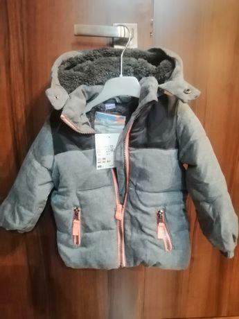 Sprzedam nową zimową kurtkę dla chłopczyka roz. 80 firmy dopodopo