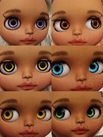 Кукольные глаза чипы для Блайз