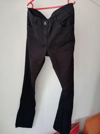 dżinsy czarne dla chłopca 152 cm, 11/12 lat, spodnie jeansy