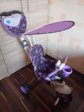Велосипед Smart Trike Dream  4 в 1 сиреневый