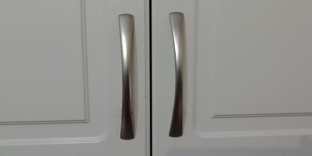Uchwyty Chrom Satyna Metalowe 9,6cm 21szt.