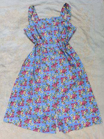 Платья в цветочный принт платья миди
