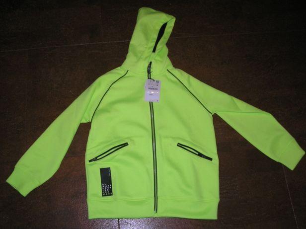 Неон Кофта Zara куртка ветровка батник для мальчика девочки Оригинал
