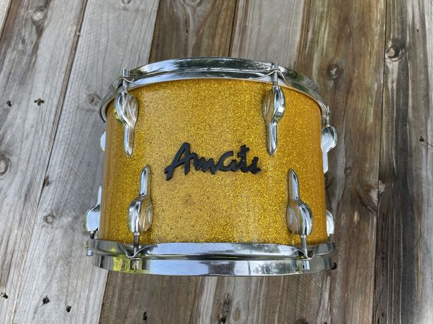 Zaproponuj cene ! Tom Amati lingalone 12 x 8 perkusja beben remo