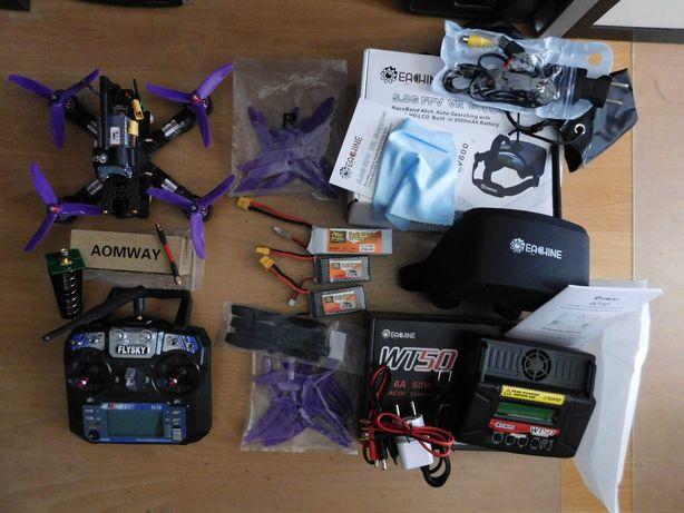 """Drone """"Competição"""" Eachine Wizard X220S FPV RTF"""