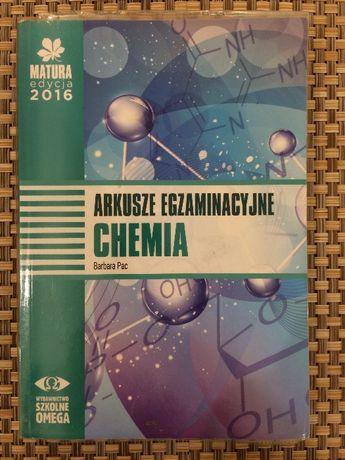 Chemia arkusze egzaminacyjne Barbara Pac Omega