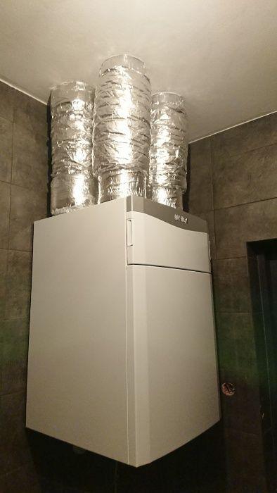 Rekuperacja, wentylacja mechaniczna, instalacje co wod-kan, hydraulik Iwaniska - image 1