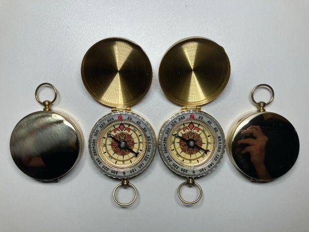 Раскладной жидкостный люминесцентный металлический медный компас