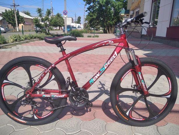 Велосипед на 26 колесах на литих дисках, зріст 145-175см