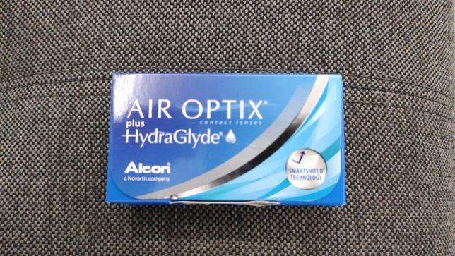 Soczewki kontaktowe miesięczne Air Optix HydraGlade -2,50 10 sztuk