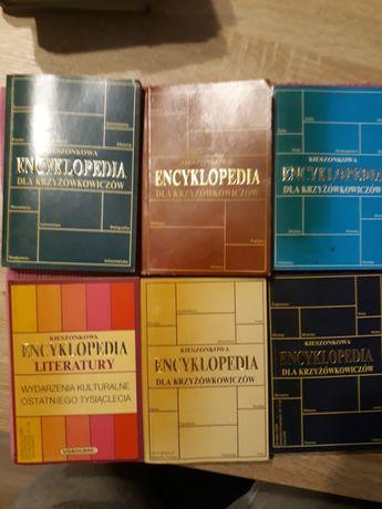 Kieszonkowa encyklopedia dla krzyzowkowiczów