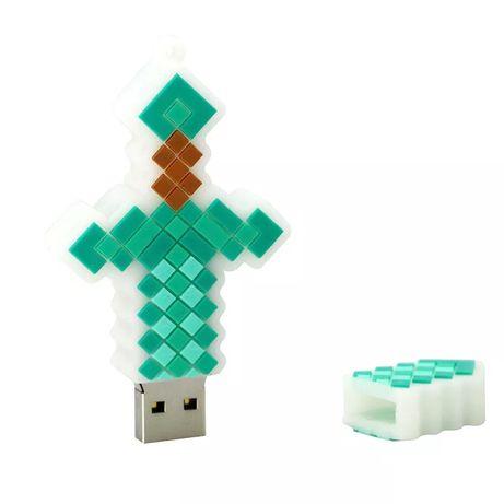 Minecraft miecz diamentowy USB pendrive 64 GB na prezent