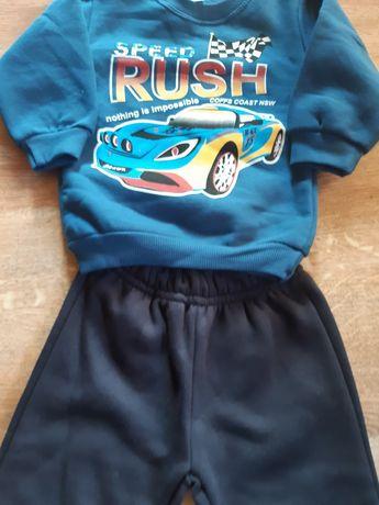 Nowy dres autka dla chłopca