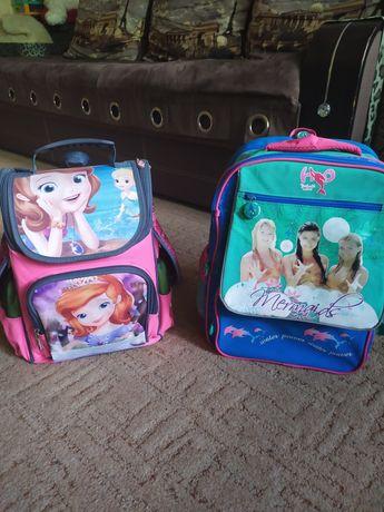 Рюкзак-портфель для девочки 1-3,4-6 классов
