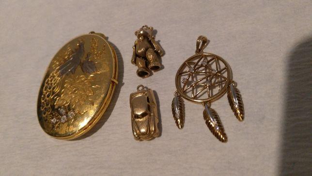 Biżuteria kobieca złota