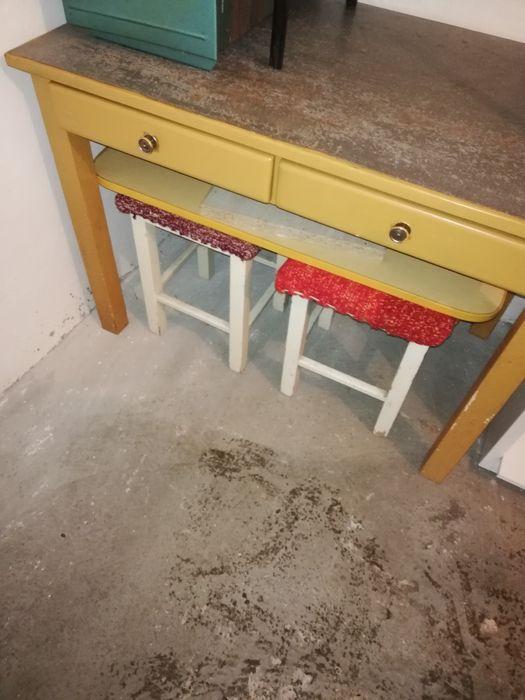 stół  biurko plus taborety Koszalin - image 1