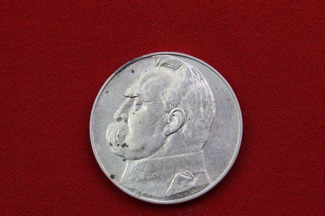 Moneta Polska 10 zł 1937 rok Józef Piłsudski  nr 01