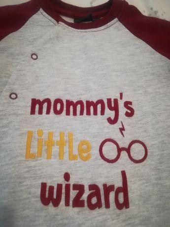 Pajac ocieplany Harry Potter plus czapka