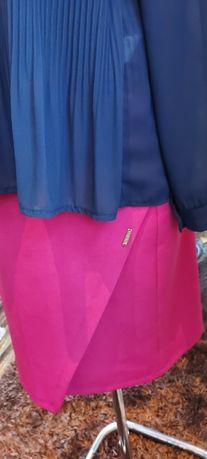 Spódnica rózowa ołówkowa