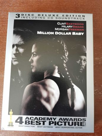 Million Dollar Baby filme DVD edição Deluxe com banda sonora