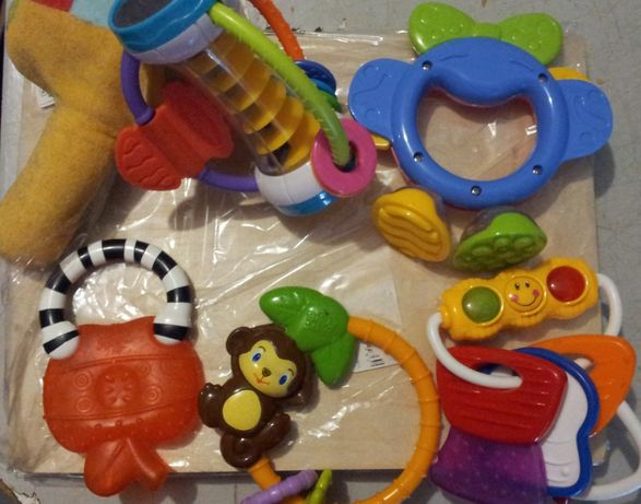 детские игрушки грызяки погремушки