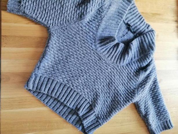 szary sweter Calvin Klein stan idealny
