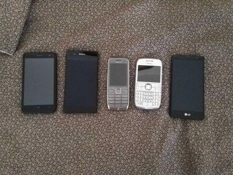 Nokia lumia 650, LG Magna, Nokia E52, Nokia Asha 302, Sony xperia Z