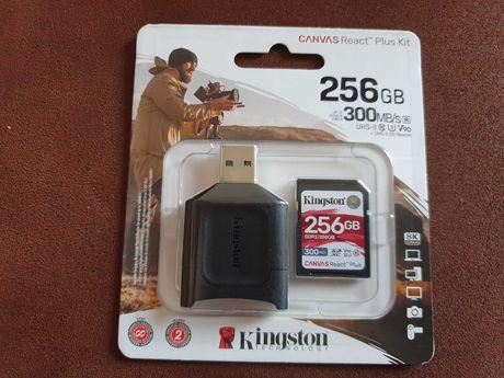 Kingston SDXC 256GB .300mb/s