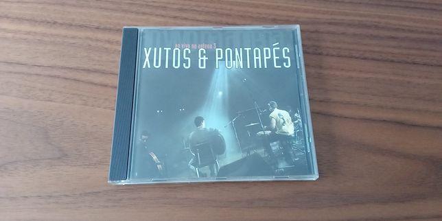 CD - Xutos e Pontapés - Ao vivo na antena 3