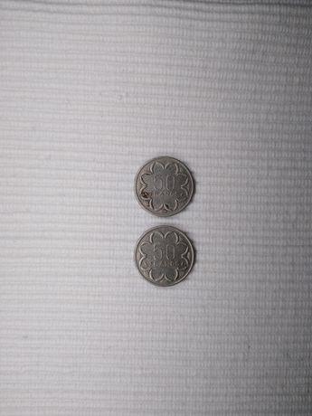 Монеты . 50 FRANCS