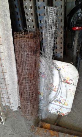 рулон металлической фасадной сетки