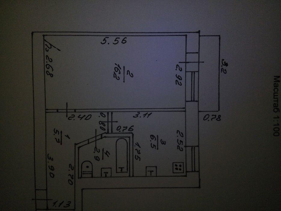 Продам однокомнатную квартиру в Купянске (Военный городок). Купянск - изображение 1