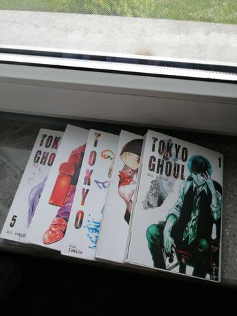 "Manga ""Tokyo Ghoul 1-5"" Sui Ishida REZERWACJA"