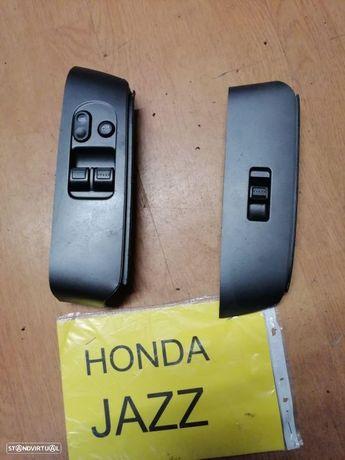 botões comando vidros Honda Jazz