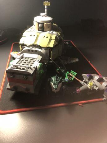 Lego żółwie ninja duży zestaw