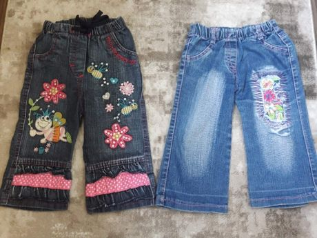 Джинсы,колготы.курточки, кофточки, свитер, пижама на девочку до 2-х ле