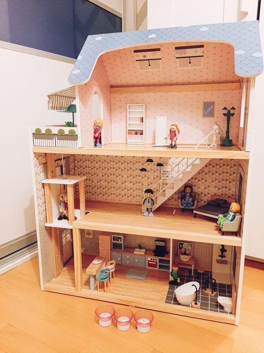 Drewniany domek dla lalek Warszawa - image 1