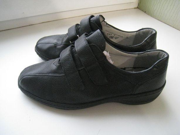 новые женские кожаные туфли , р.39 -26см