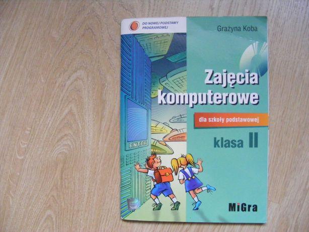 Książka Zajęcia komputerowe klasa II Grażyna Koba