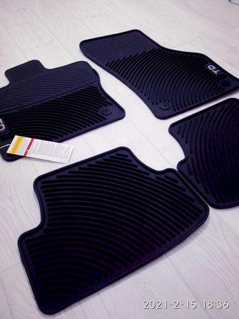 Оригинальные резиновые коврики на Volkswagen GOLF TDI 2015