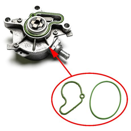 Ремкомплект вакуумного насоса VW 1.9L TDI 038145101B
