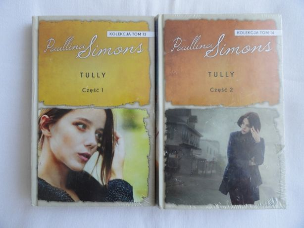 Tully część 1 i 2 Paullina Simons / twarda / w folii