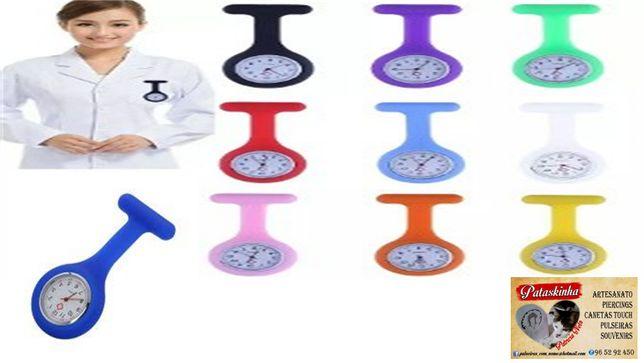 pulseira relógio enfermagem