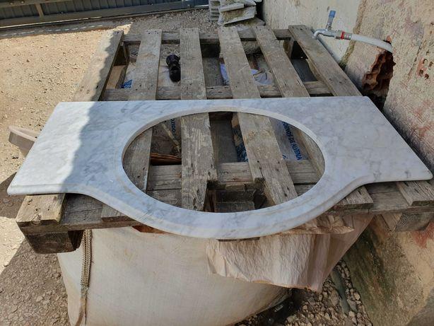 Pedra Mármore P/Móvel Casa de Banho