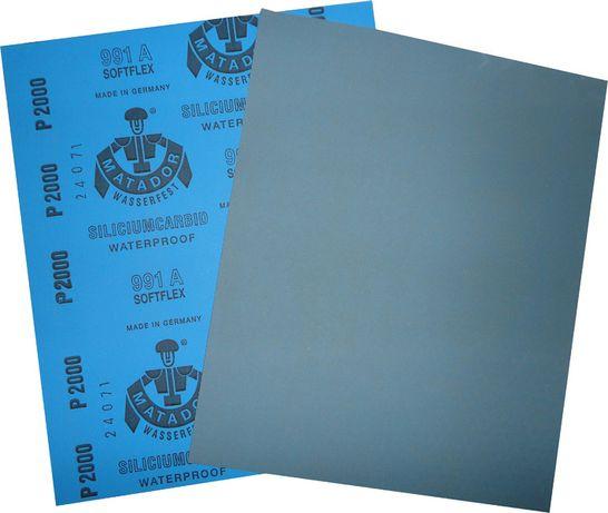 наждачка наждачная бумага папір MATADOR шкурка Водостійка водостойкая